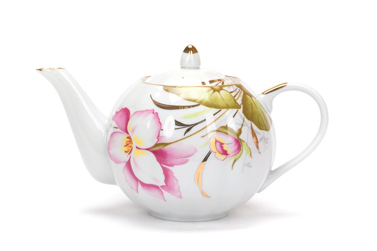 Фото Сервиз чайный Дулево Тюльпан Июнь, 15 предметов