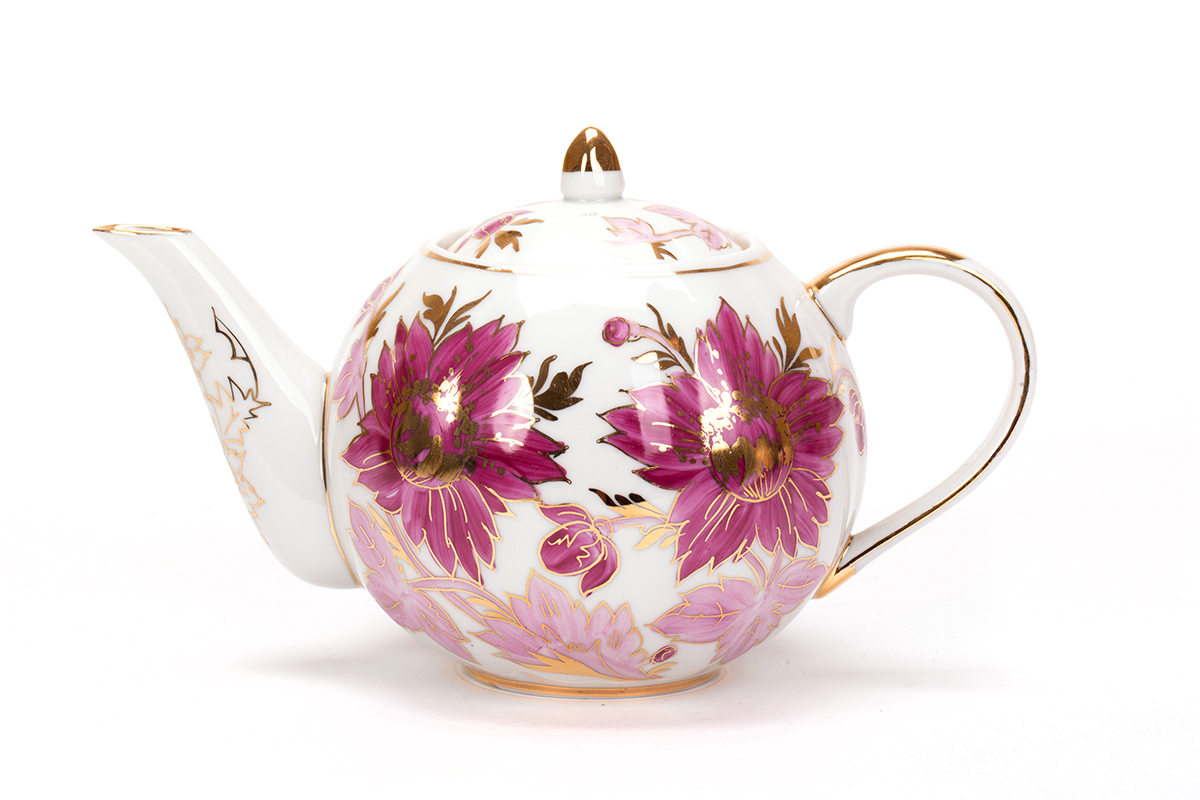 Фото Сервиз чайный Дулево Тюльпан Тюльпан, 21 предмет