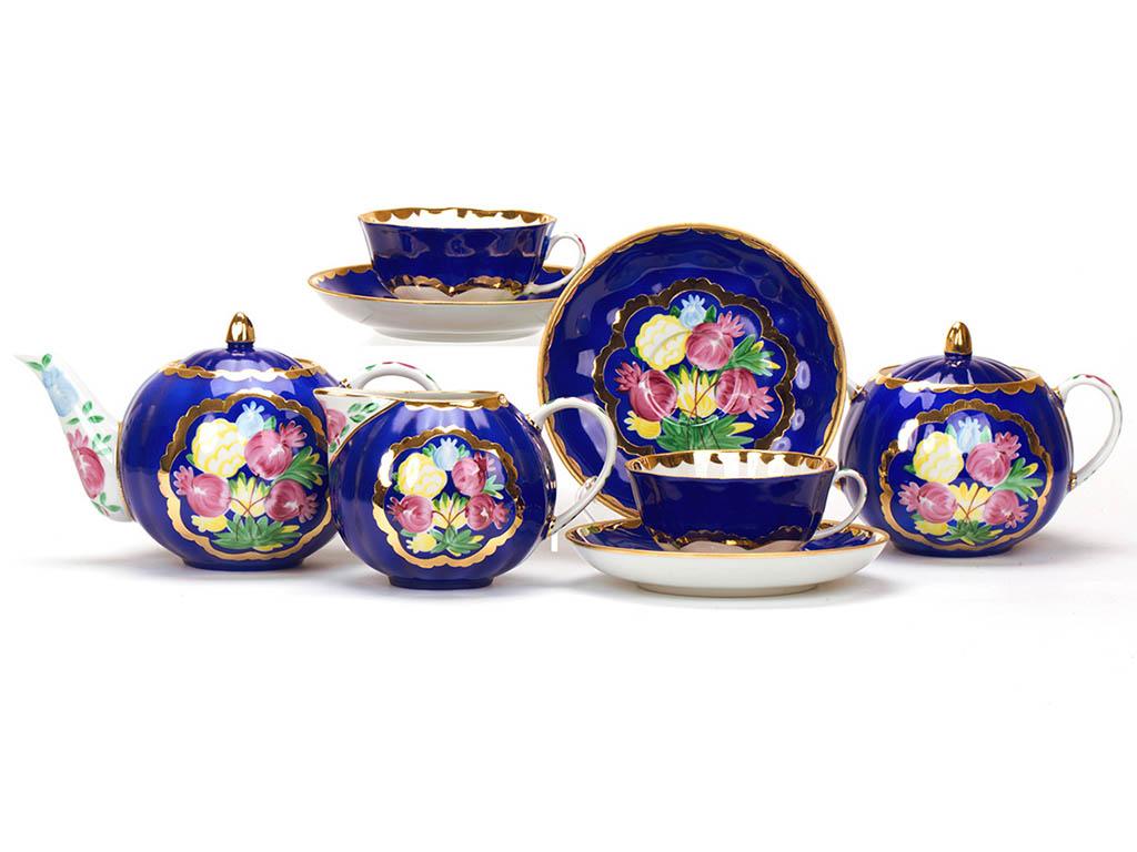 Сервиз чайный Дулево Тюльпан Красавица