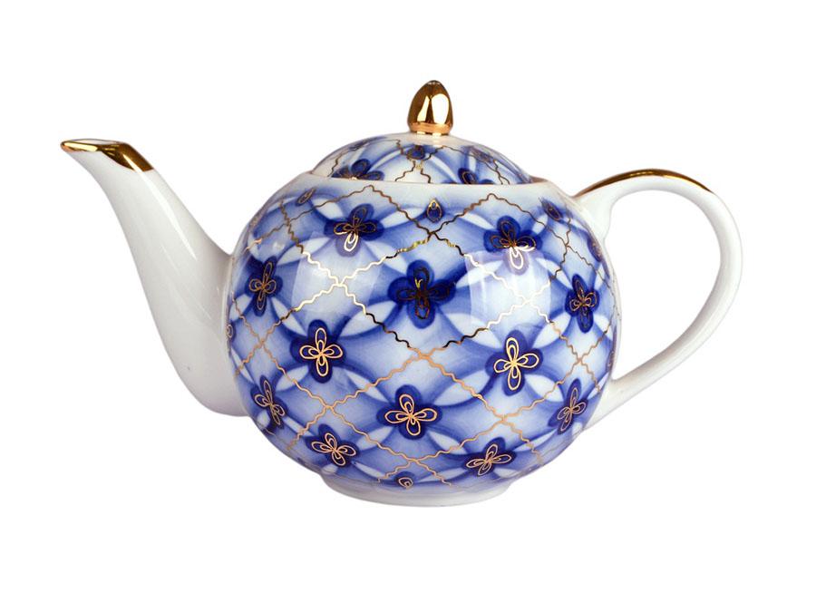 Фото Сервиз чайный Дулево Тюльпан Сеточка, 15 предметов