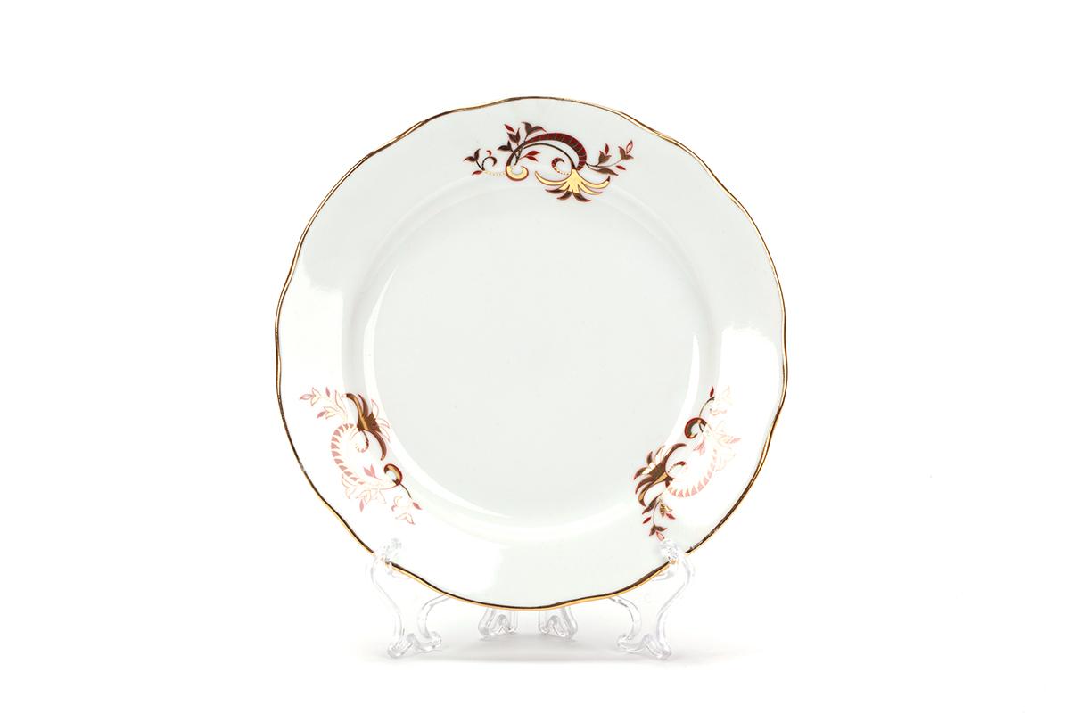 Фото Сервиз чайный Дулево Тюльпан Золотое кружево, 21 предмет