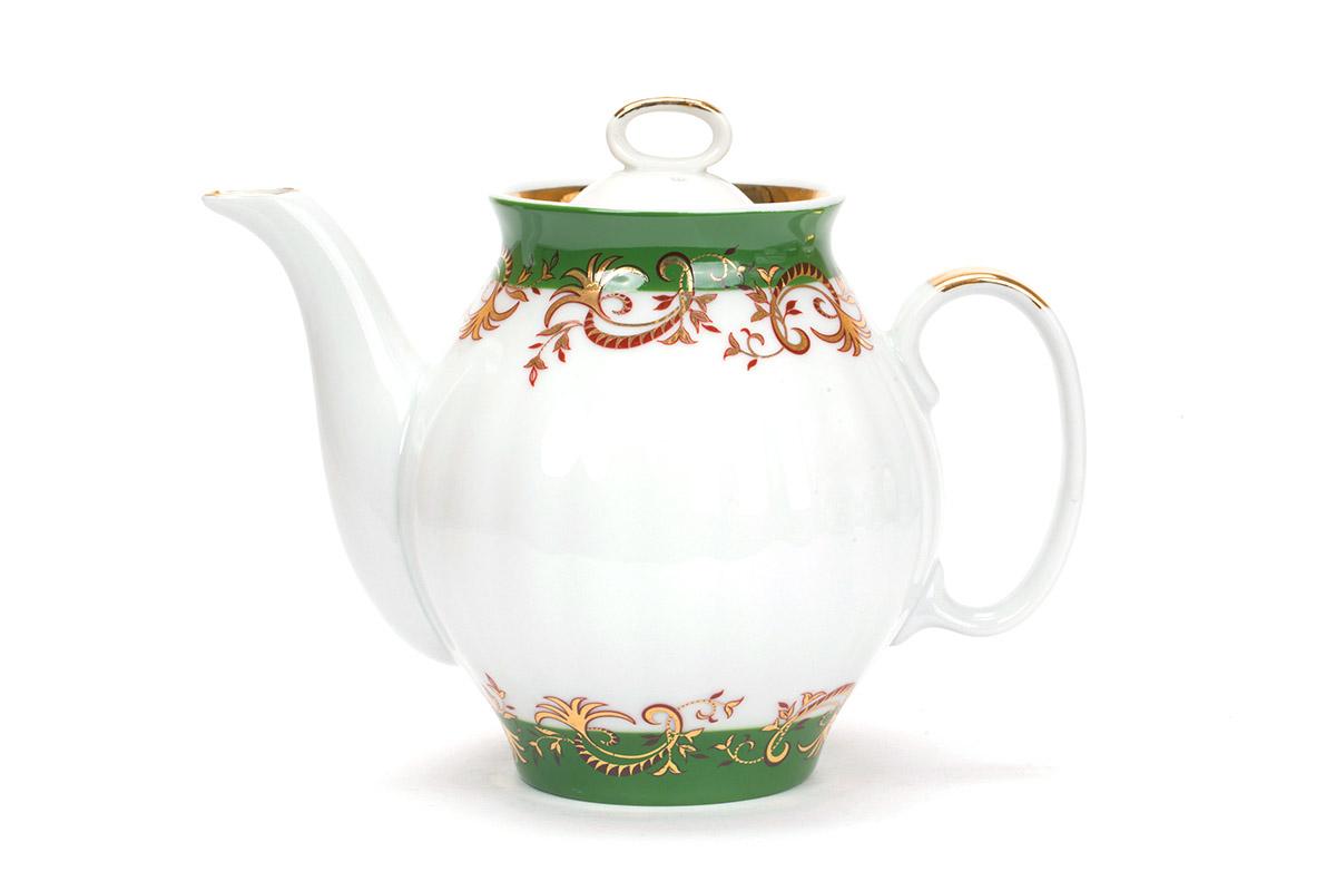 Фото Сервиз чайный Дулево Белый лебедь Кружево, 15 предметов