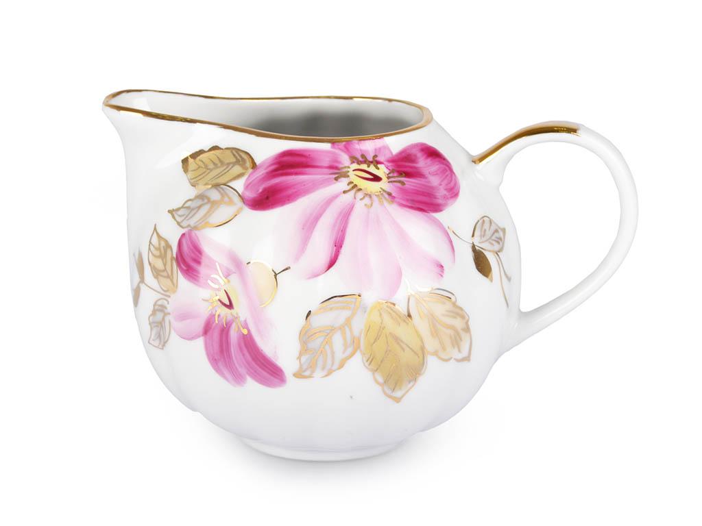 Фото Сервиз чайный Дулево Тюльпан Пурпуровый цветок, 15 предметов