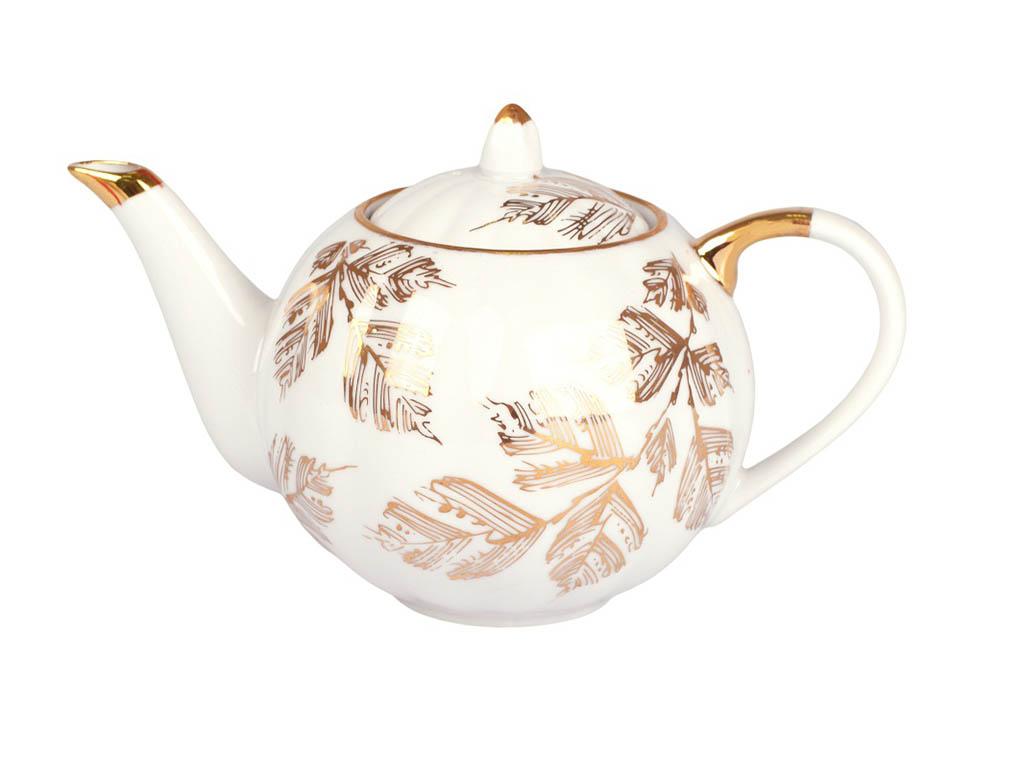 Фото Сервиз чайный Дулево Тюльпан Золотая ветка, 15 предметов
