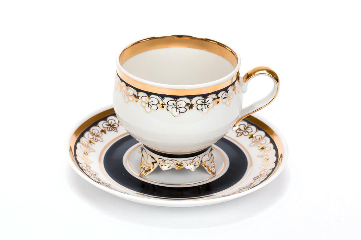 Фото Сервиз чайный Дулево Виноградная лоза Северный, 22 предмета