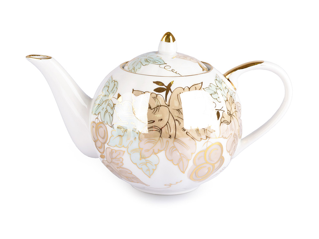 Фото Сервиз чайный Дулево Тюльпан Флора, 15 предметов