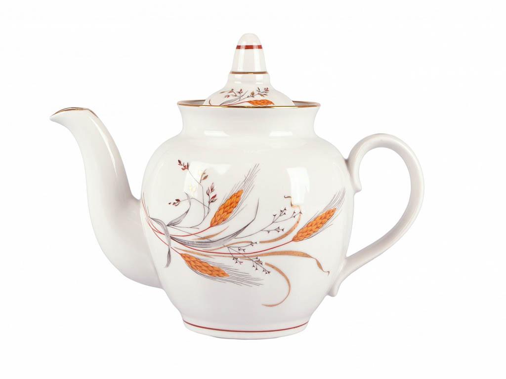 Фото Сервиз чайный Дулево Гранатовый Колосок, 20 предметов