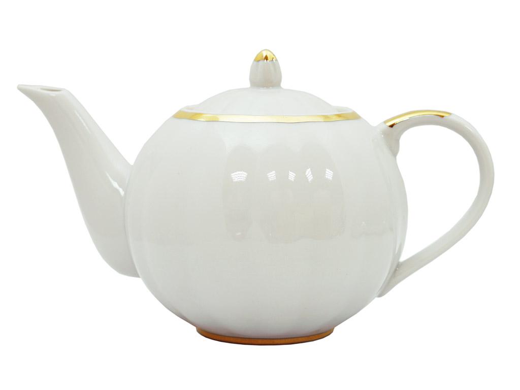 Фото Сервиз чайный Дулево Тюльпан Московский с лентой, 15 предметов