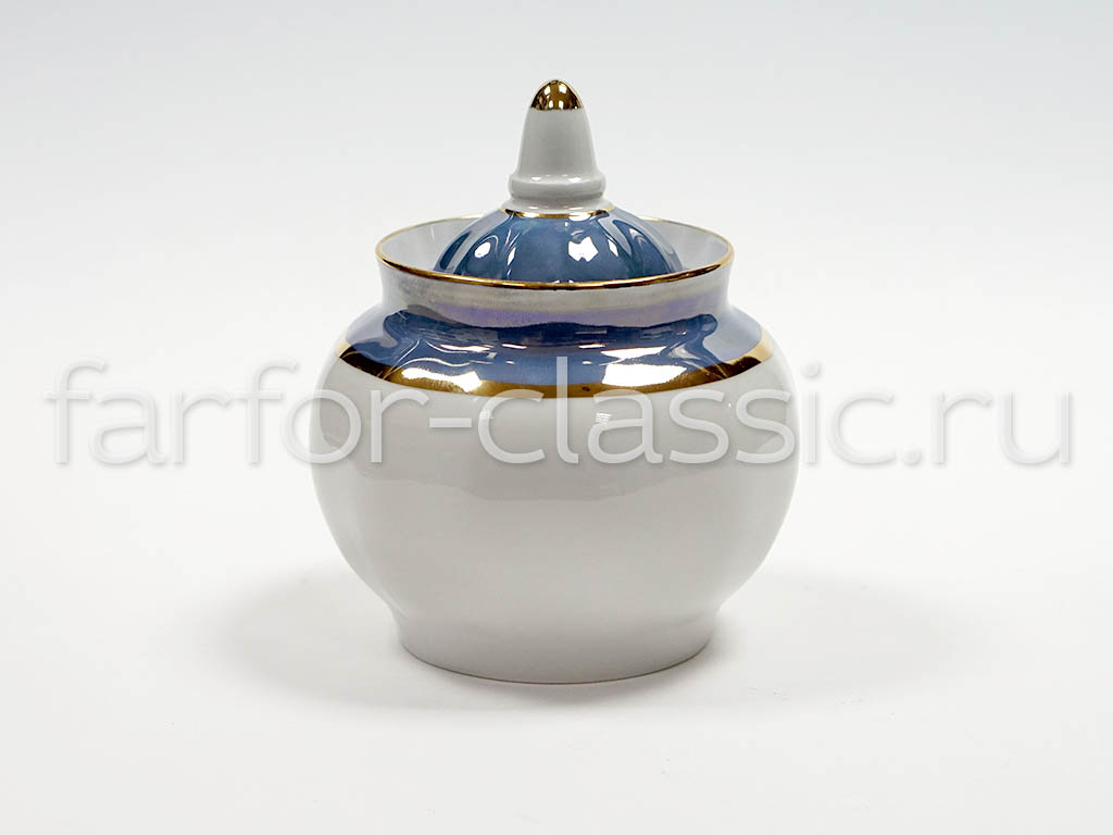 Фото Сервиз чайный Дулево Гранатовый Морской бриз, 20 предметов