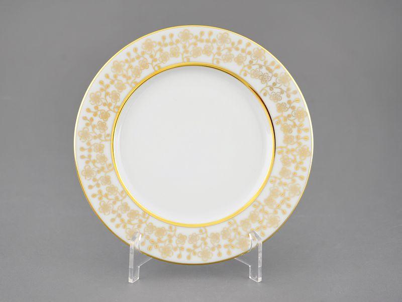 Фото Тарелка десертная 17 см Форма Виндзор Золотой цветок