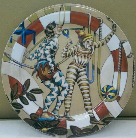 Фото Тарелка для торта 27 см Форма Сабина Цирк