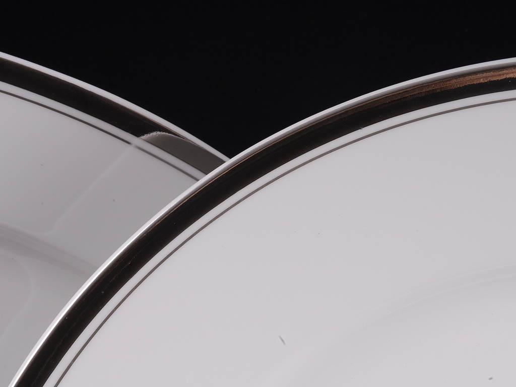 Фото Блюдо круглое мелкое 30 см, Форма Сабина Айсберг