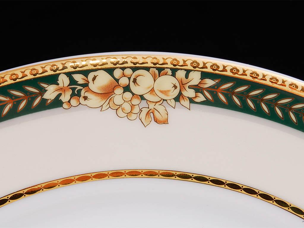 Фото Блюдо круглое мелкое 30 см, Форма Сабина Фруктовый сад
