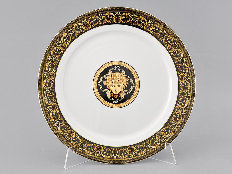 Фото Блюдо круглое мелкое 30 см, Форма Сабина Флоренция антик