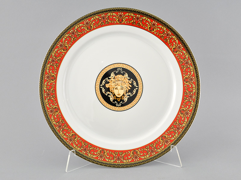 Фото Блюдо круглое мелкое 30 см Форма Сабина Милан антик