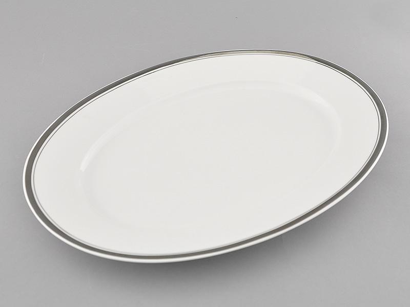 Фото Блюдо овальное 35 см, Форма Сабина Айсберг