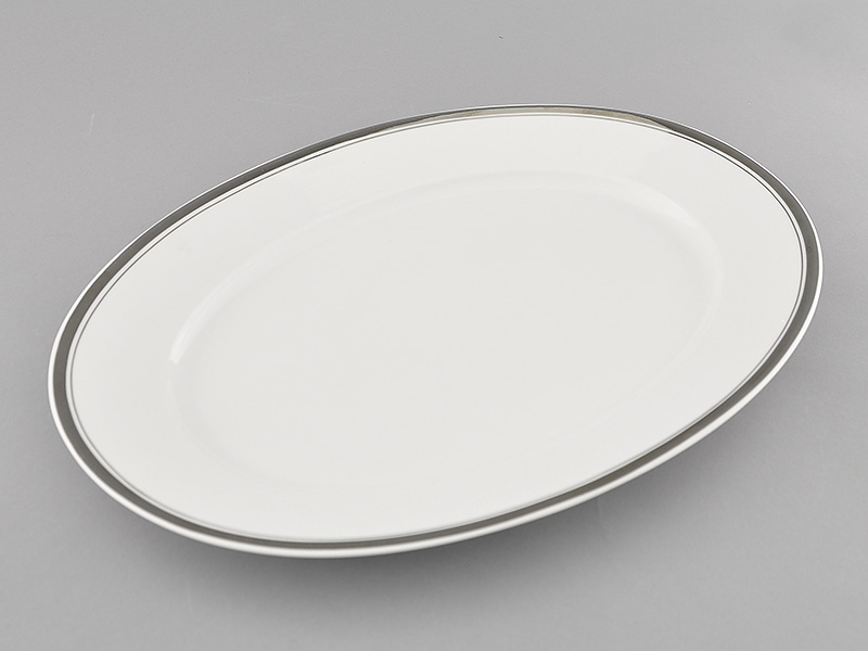 Фото Блюдо овальное 39 см, Форма Сабина Айсберг