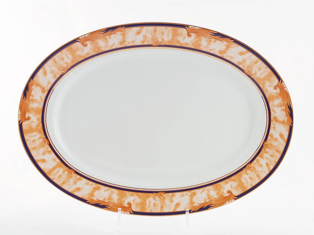 Фото Блюдо овальное 39 см, Форма Сабина Дезире