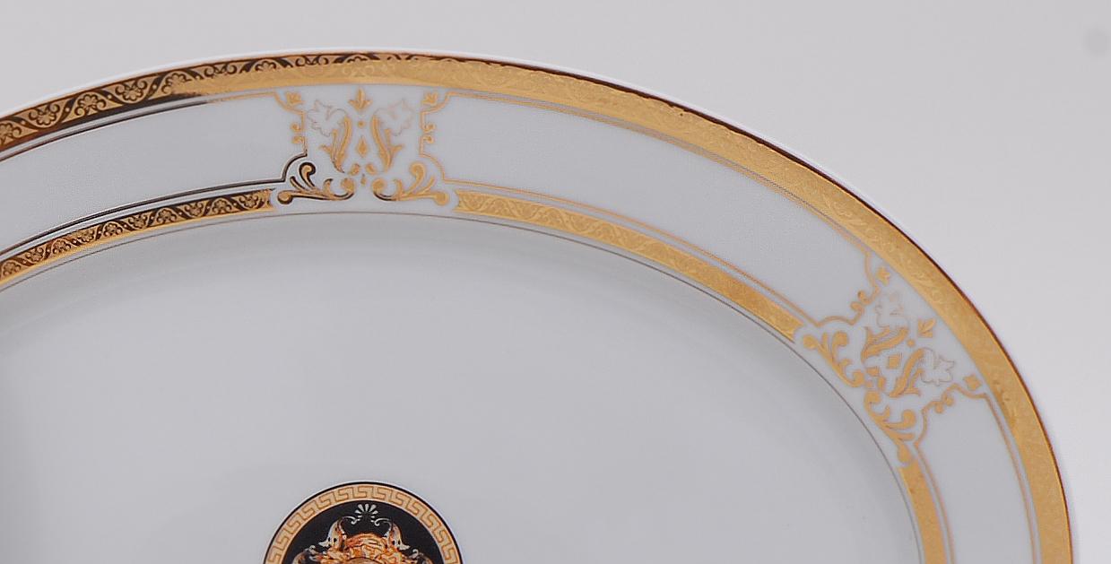 Фото Блюдо овальное 39 см, Форма Сабина Венеция антик
