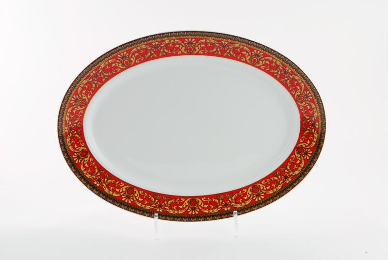 Фото Блюдо для гарнира овальное 22 см, Форма Сабина Милан