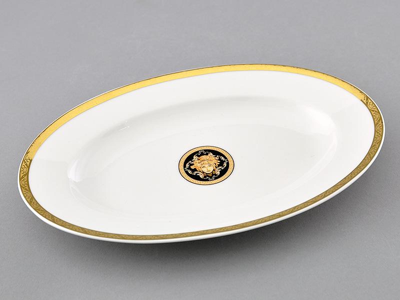 Фото Блюдо для гарнира овальное 22 см, Форма Сабина Венеция антик