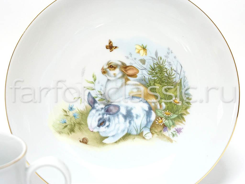 Фото Детский набор посуды Дружба, 3 предмета