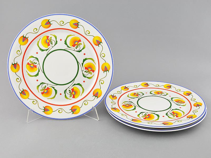 Фото Набор тарелок мелких 30 см 3 шт, Форма Сабина Самарканд