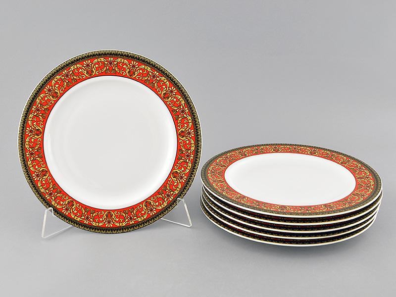Фото Набор тарелок мелких Леандер 25 см 6 шт, Форма Сабина Милан