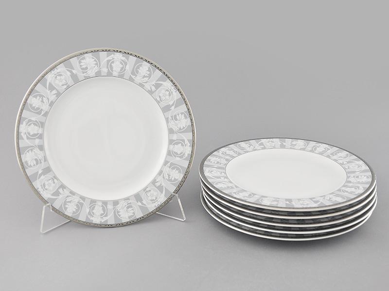 Фото Набор тарелок мелких Леандер 25 см 6 шт, Форма Сабина Уэльс
