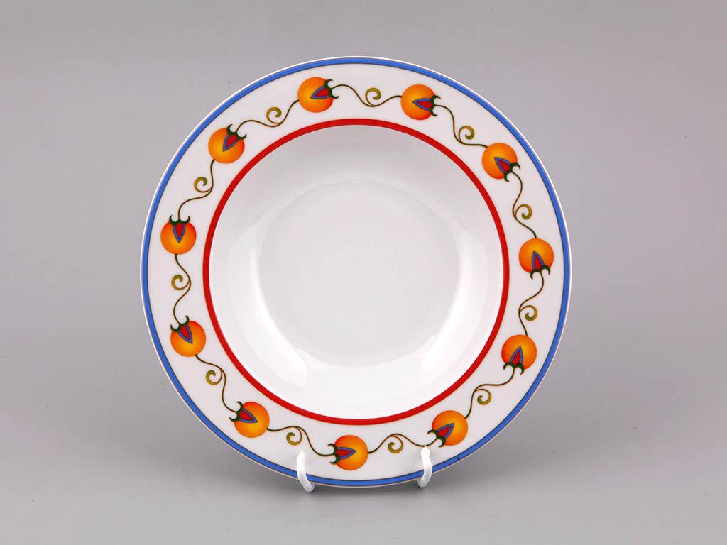 Фото Набор глубоких тарелок Леандер 23 см 6 шт, Форма Сабина Самарканд