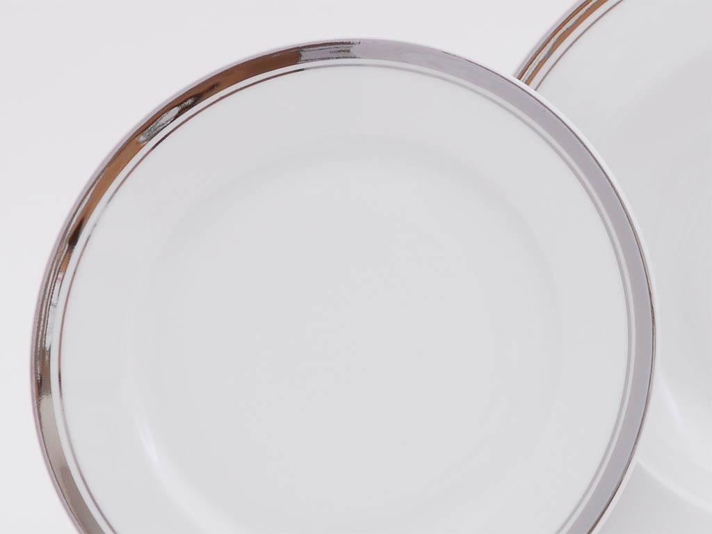Фото Набор десертных тарелок Леандер 17 см 6 шт, Форма Сабина Айсберг