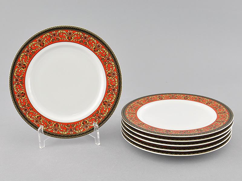 Фото Набор десертных тарелок Леандер 17 см 6 шт, Форма Сабина Милан