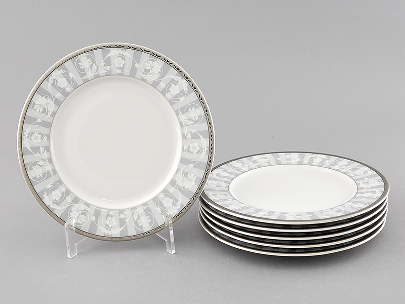 Фото Набор десертных тарелок Леандер 17 см 6 шт, Форма Сабина Уэльс