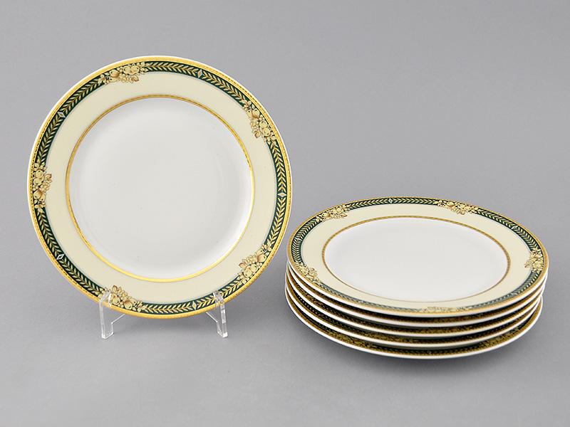 Фото Набор десертных тарелок Леандер 19 см 6 шт, Форма Сабина Фруктовый сад