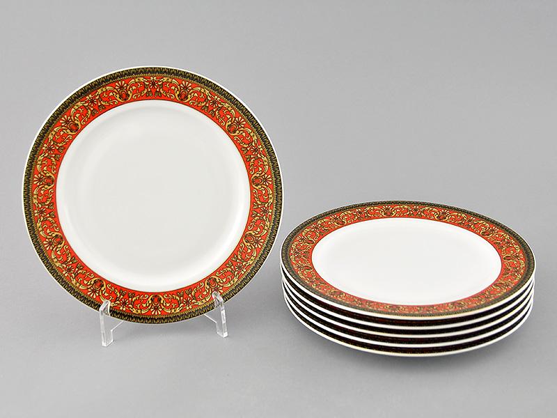 Фото Набор десертных тарелок Леандер 19 см 6 шт, Форма Сабина Милан