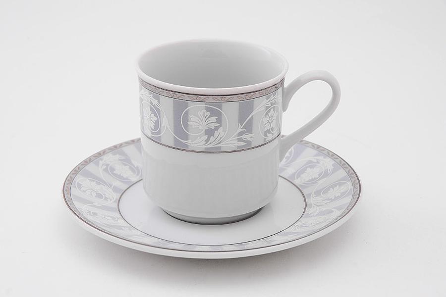 Фото Набор чашек кофейных с блюдцем 150 мл, 6 шт Форма Сабина Уэльс