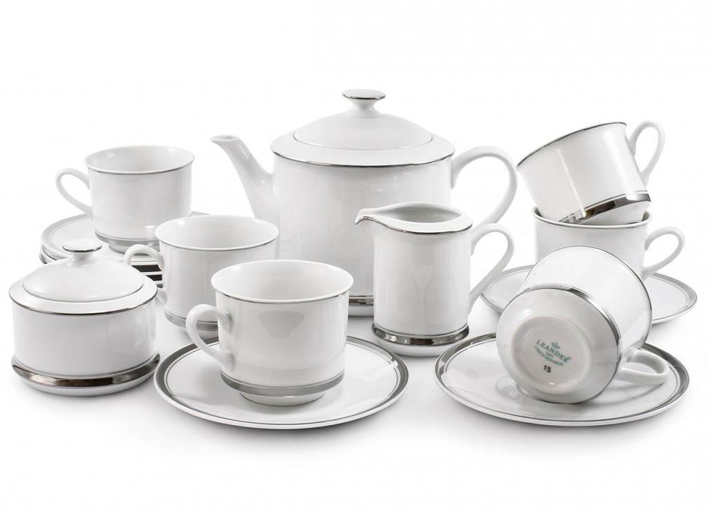 Фото Сервиз чайный 15 предметов, на 6 персон, Форма Сабина Айсберг