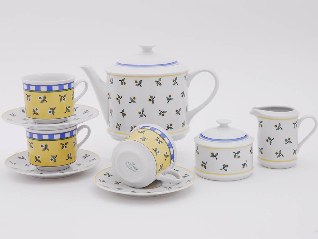 Фото Сервиз чайный 15 предметов, на 6 персон, Форма Сабина Летний