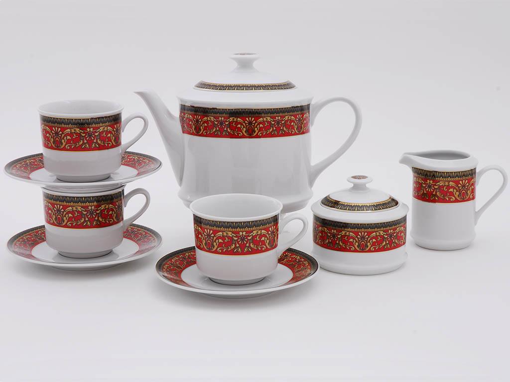 Фото Сервиз чайный 15 предметов, на 6 персон, Форма Сабина Милан
