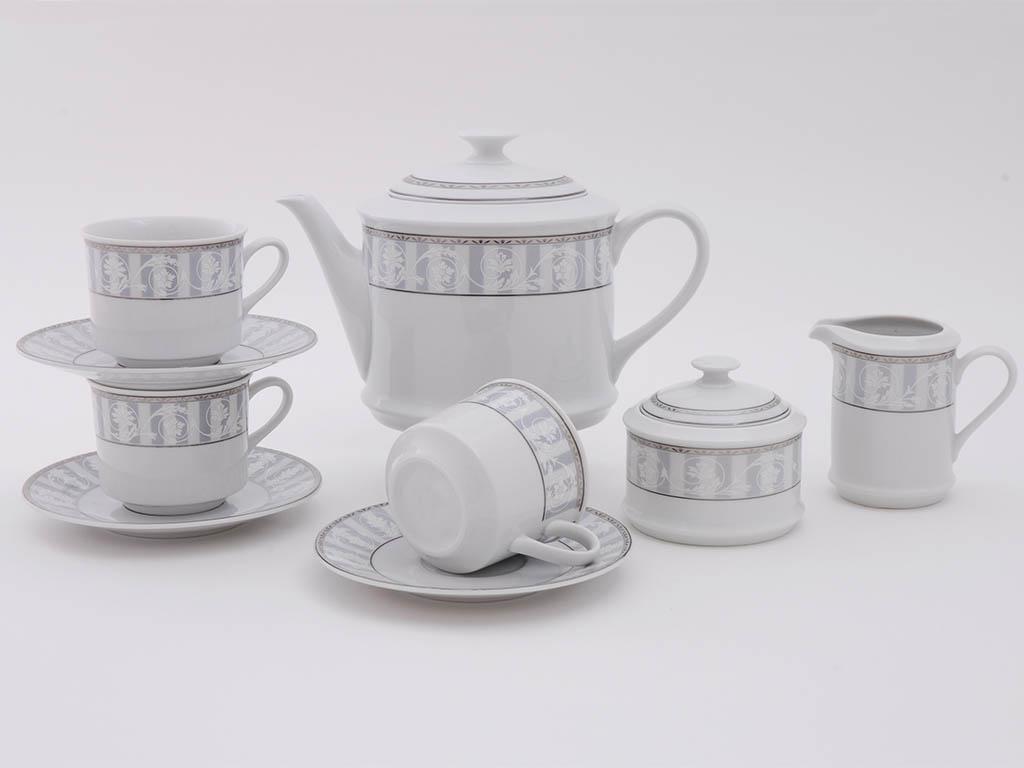 Фото Сервиз чайный 15 предметов, на 6 персон, Форма Сабина Уэльс