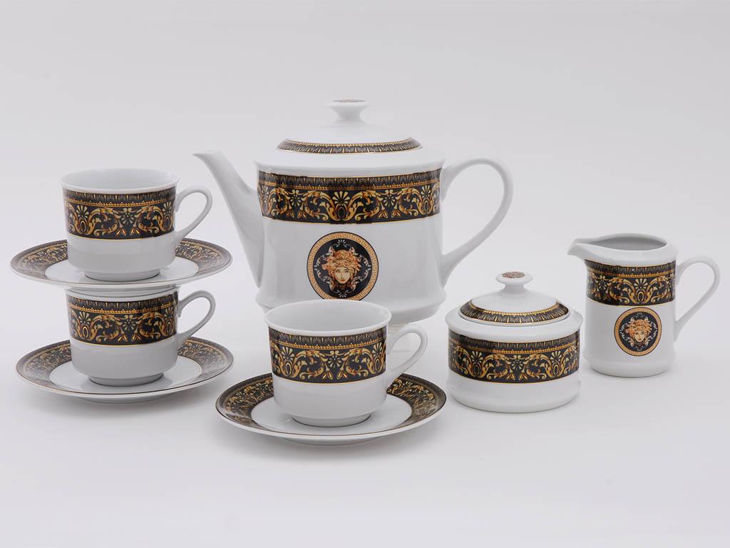 Фото Сервиз чайный 15 предметов, на 6 персон, Форма Сабина Флоренция антик