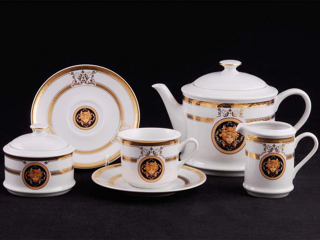Фото Сервиз чайный 15 предметов, на 6 персон, Форма Сабина Венеция антик
