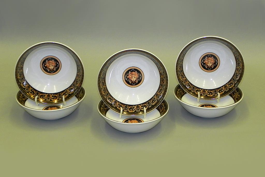 Фото Набор салатников Леандер 13 см, 6 шт, Форма Сабина Флоренция антик