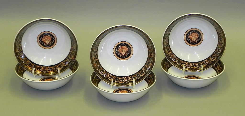 Фото Набор салатников Леандер 16 см 6 шт, Форма Сабина Флоренция антик