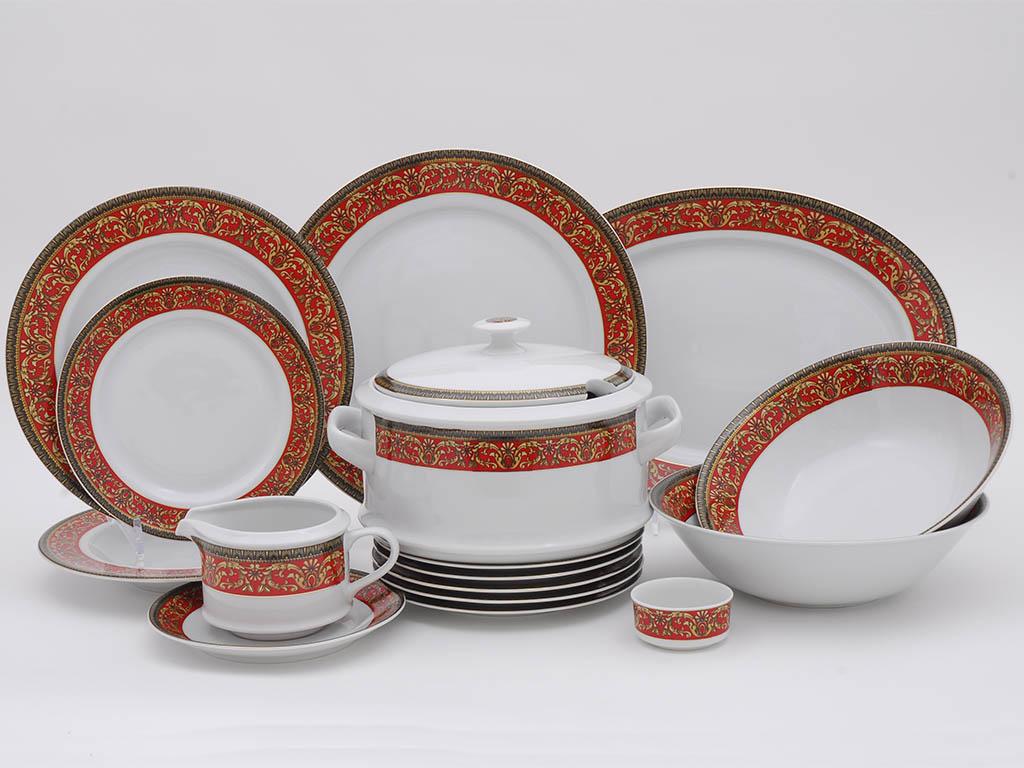 Фото Сервиз столовый Леандер 25 предметов на 6 персон, Форма Сабина Милан