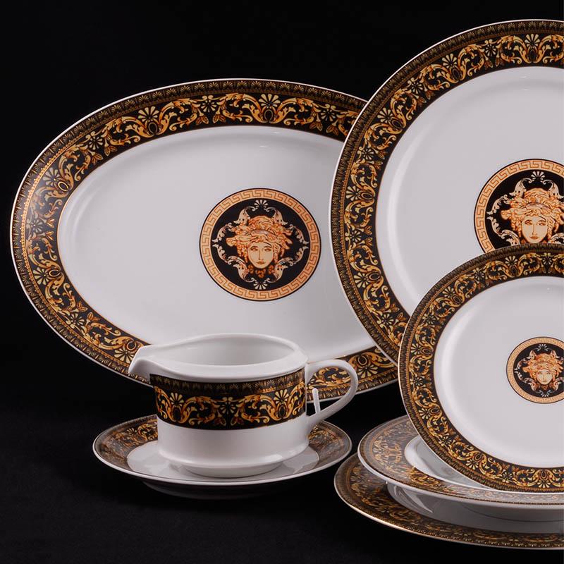 Фото Сервиз столовый Леандер 25 предметов на 6 персон, Форма Сабина Флоренция антик