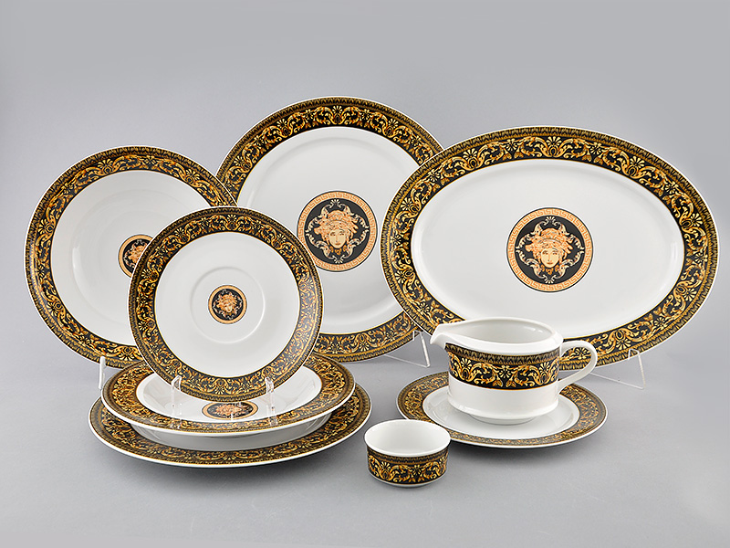 Фото Сервиз столовый Леандер 24 предмета на 6 персон, без супницы, Форма Сабина Флоренция антик