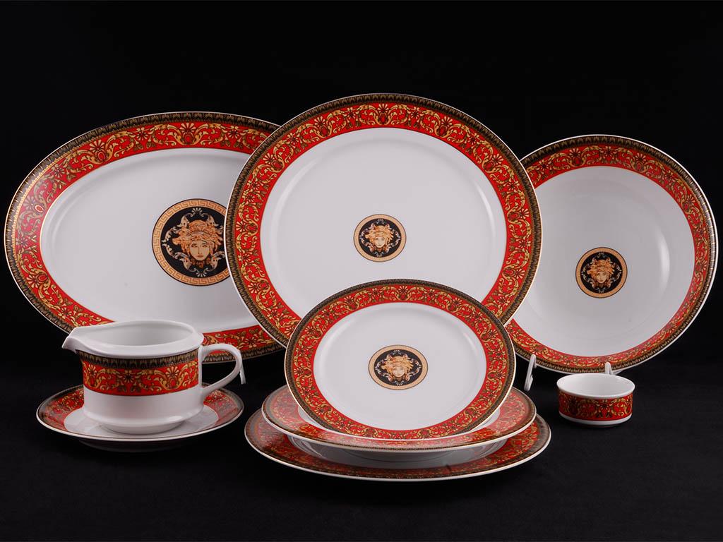 Фото Сервиз столовый Леандер 24 предмета на 6 персон, без супницы, Форма Сабина Милан антик