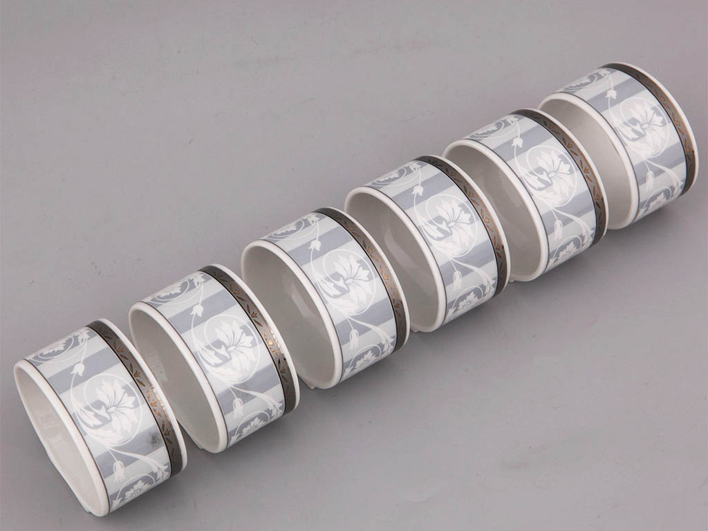 Фото Набор колец для салфеток 6 шт, Форма Сабина Уэльс