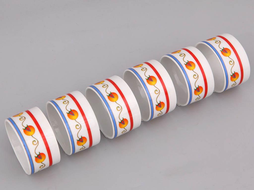 Фото Набор колец для салфеток 6 шт, Форма Сабина Самарканд